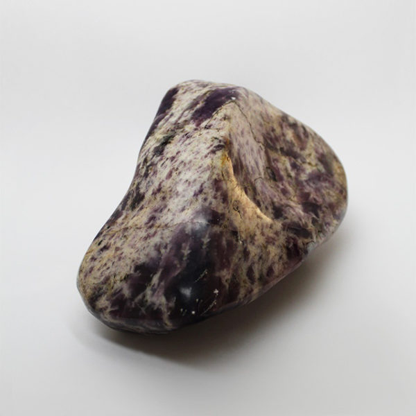 a photo of a lepidolite extra large freeform