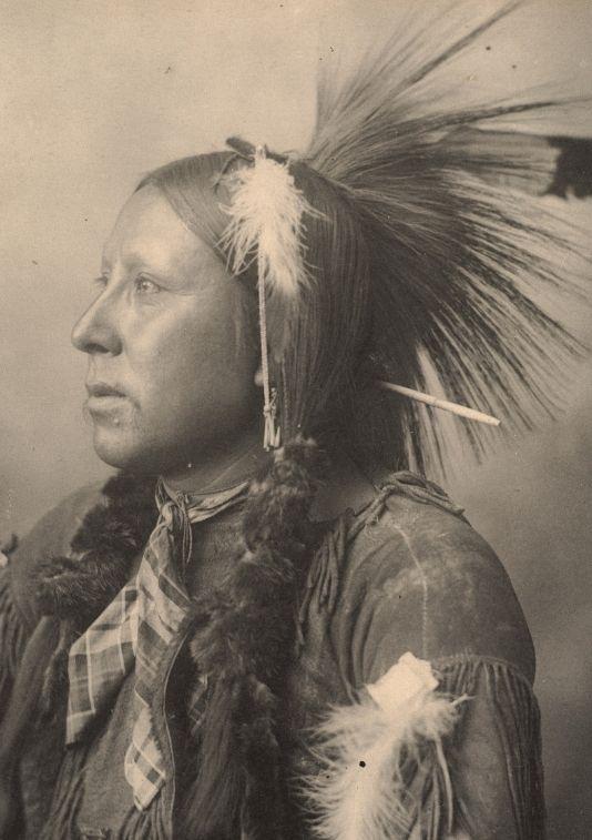 a photo of a native american cherokee