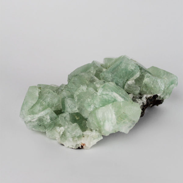 a photo of a large Apophyllite cluster