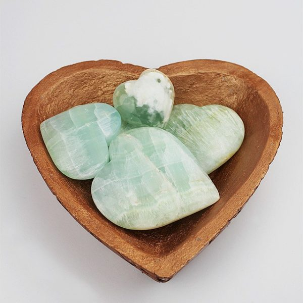 a photo of caribbean calcite hearts
