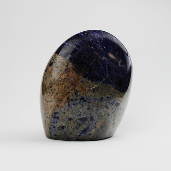 a photo of a large sodalite freeform