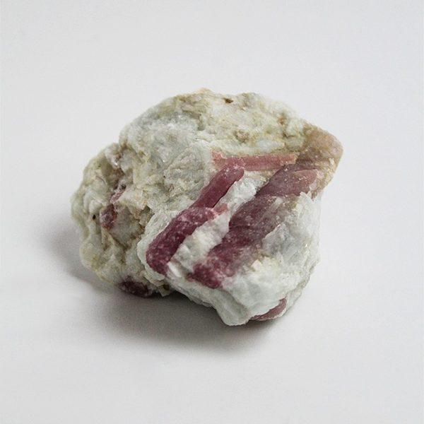 a photo of a pink tourmaline large freeform