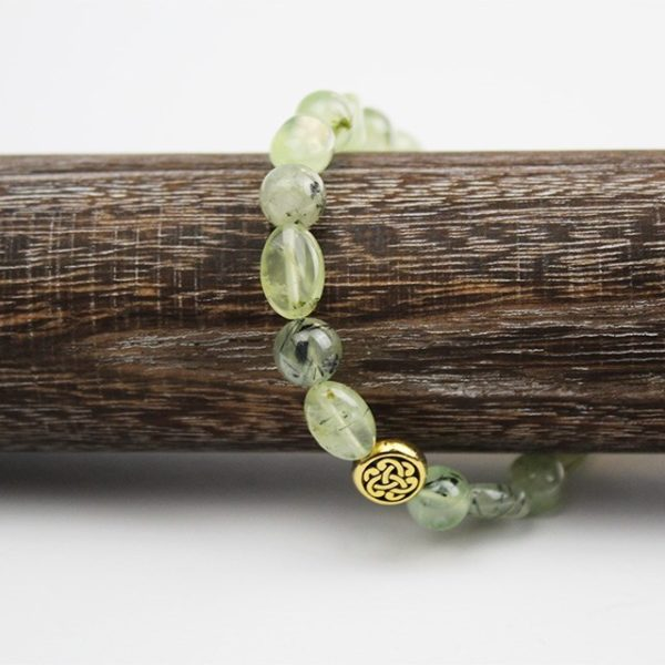 a photo of a prenhite bracelet