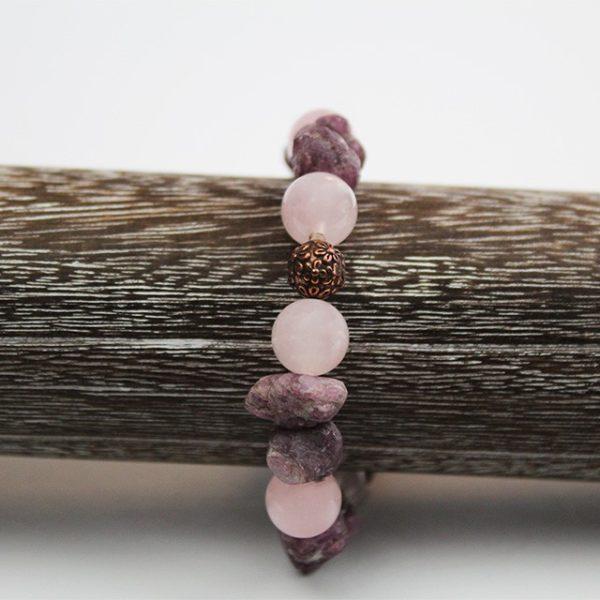 a photo of a ruby corundun bracelet